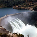 AW14 Kariba dam after opening - taken by Adrian Workman on a drive from Salisbury with Tony Bosley and Jim Rowe
