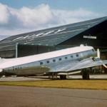 DC3 GAMCA in Fairey Surveys livery