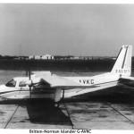 Britten Norman Islander G-AVKC