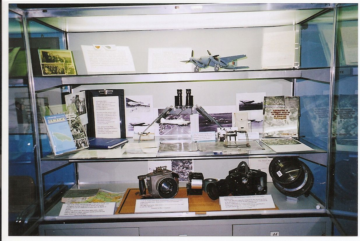 Museum of Berkshire Aviation - FSL display case